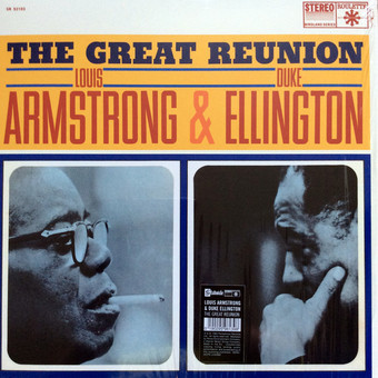 VINIL Universal Records Louis Armstrong / Duke Ellington - The Great Reunion