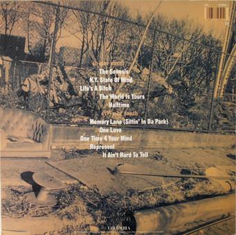 VINIL Universal Records Nas - Illmatic