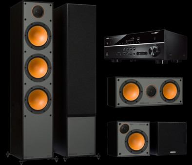 Pachet PROMO Monitor Audio Monitor 300 pachet 5.0 + Yamaha RX-V485