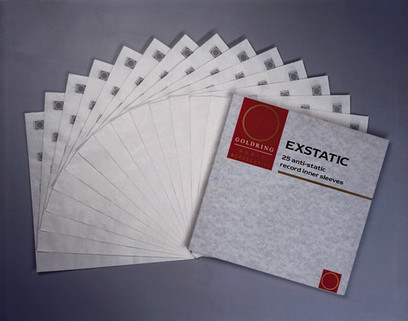Goldring Exstatic Record Sleeves