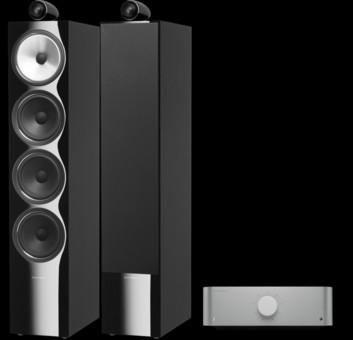 Pachet PROMO Bowers & Wilkins 702 S2 + Cambridge Audio Edge A