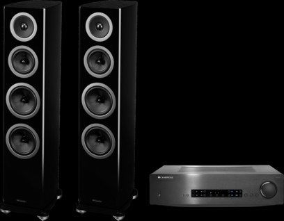 Wharfedale REVA-4 + Cambridge Audio CXA80