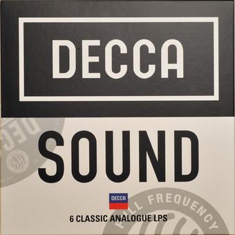 VINIL Universal Records Various Artists - Decca Sound - 6 Classic Analogue LPs