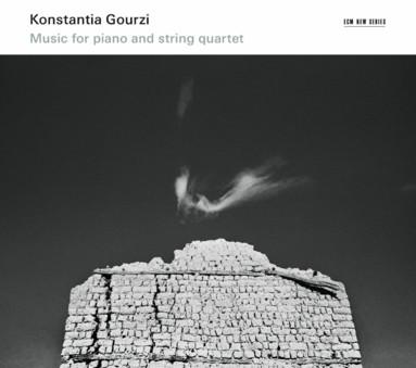 CD ECM Records Konstantia Gourzi: Music for piano and string quartet