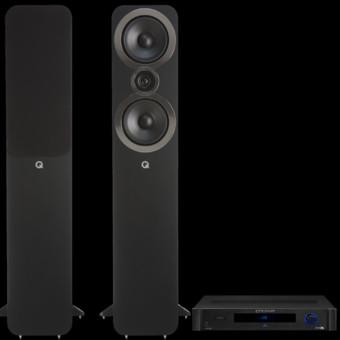 Pachet PROMO Q Acoustics 3050i + Emotiva BasX TA-100