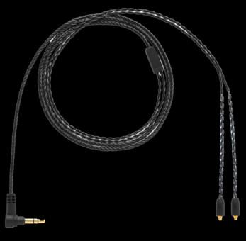 Campfire Black Litz Cable (Copper) for COMET