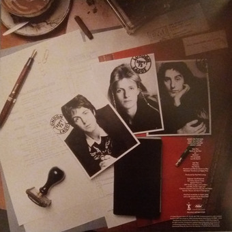 VINIL Universal Records Paul Mccartney & Wings - Band On The Run
