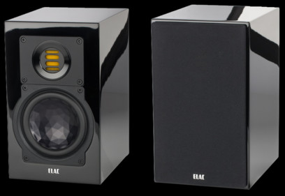 Boxe Elac BS 243.3 resigilate Negru High Gloss
