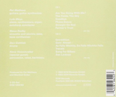 VINIL ECM Records Pat Metheny Group: Travels