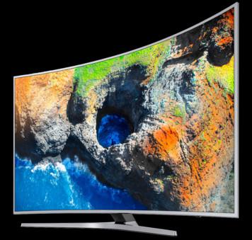 TV Samsung UE-55MU6502 , Argintiu, Curbat, Quad-Core, HDR, 138 cm