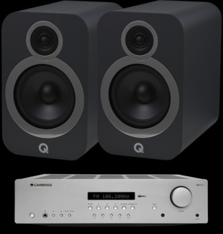 Pachet PROMO Q Acoustics 3030i + Cambridge Audio AXR85