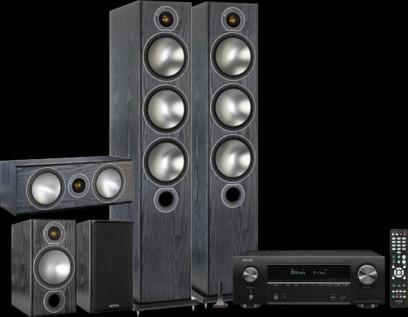 Pachet PROMO Monitor Audio Bronze 6 5.0 + Denon AVR-X1600H