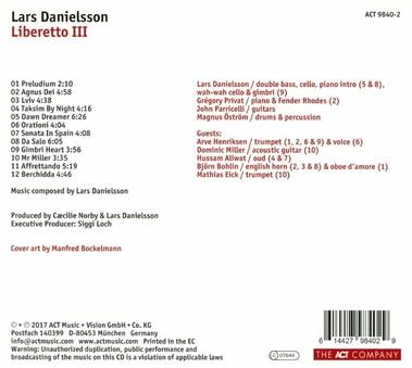 CD ACT Lars Danielsson: Liberetto III