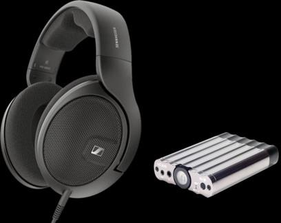 Pachet PROMO Sennheiser HD 560S + iFi Audio xCAN