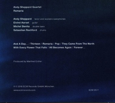 CD ECM Records Andy Sheppard: Romaria