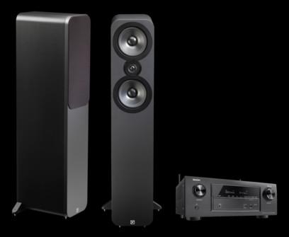 Q Acoustics 3050 + Denon AVR-X2400H