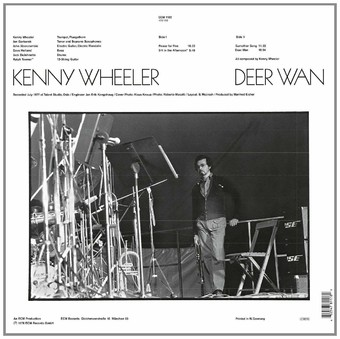 VINIL ECM Records Kenny Wheeler: Deer Wan