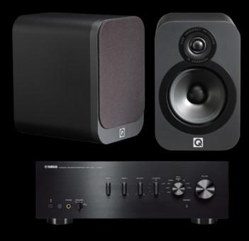 Q Acoustics 3020 + Yamaha A-S501