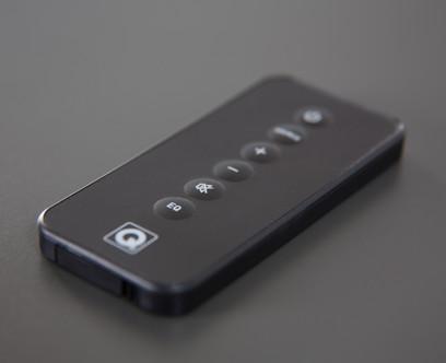 Soundbar Q Acoustics M3 Hi-Fi, Subwoofer integrat, Bluetooth si NFC, 100 W