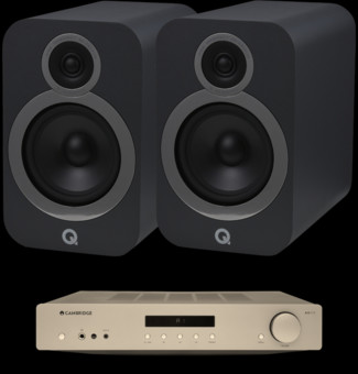 Pachet PROMO Q Acoustics 3030i + Cambridge Audio AXA35