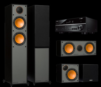 Pachet PROMO Monitor Audio Monitor 200 pachet 5.0 + Yamaha RX-V485