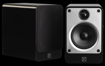 Q Acoustics Concept 20 + Cambridge Audio Topaz SR20