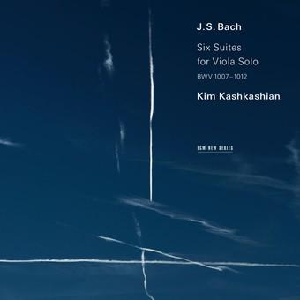 CD ECM Records Kim Kashkashian - J.S. Bach: Six Suites For Viola Solo