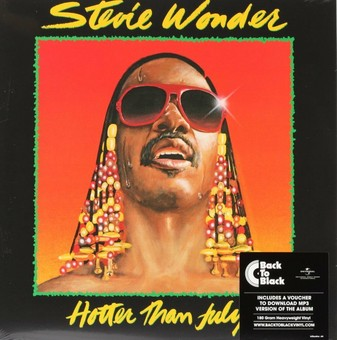 VINIL Universal Records Stevie Wonder - Hotter Than July