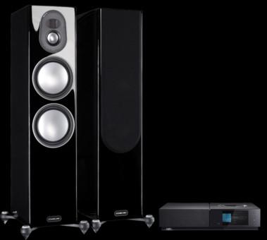 Pachet PROMO Monitor Audio Gold 300 (5G) + Naim Uniti Nova