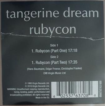 VINIL Universal Records Tangerine Dream - Rubycon ( picture disc )