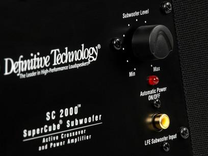 Subwoofer DefinitiveTechnology SuperCube 2000