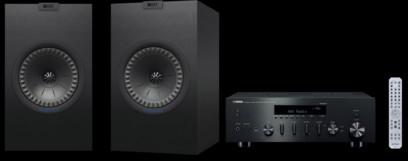 Pachet PROMO KEF Q350 + Yamaha R-N602