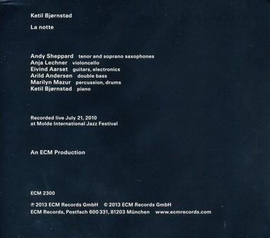 CD ECM Records Ketil Bjornstad: La Notte