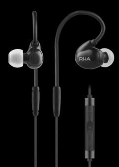 Casti Hi-Fi RHA T20i black