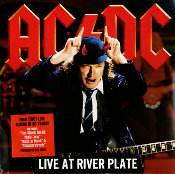 VINIL Universal Records AC/DC - Live At The River Plate