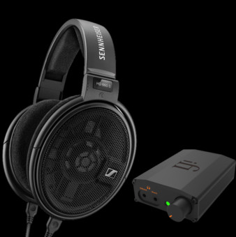 Pachet PROMO Sennheiser HD 660 S + iFi Audio Nano iDSD Black