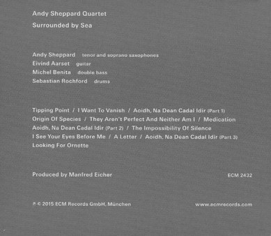 CD ECM Records Andy Sheppard: Surrounded By Sea