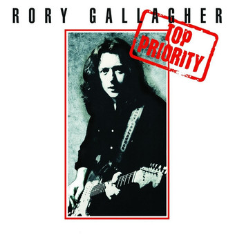 VINIL Universal Records Rory Gallagher - Top Priority