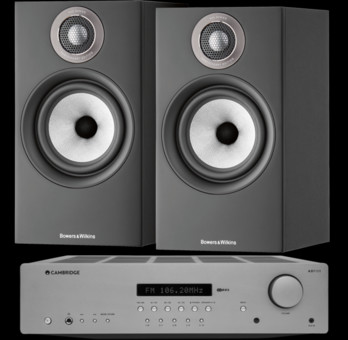 Pachet PROMO Bowers & Wilkins 607 S2 Anniversary Edition + Cambridge Audio AXR100
