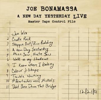 VINIL Universal Records Joe Bonamassa - A New Day Yesterday
