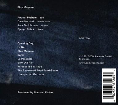 VINIL ECM Records Anouar Brahem: Blue Maqams