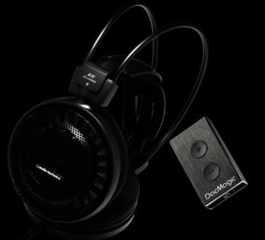 Pachet PROMO Audio-Technica ATH-AD700X + Cambridge Audio Dacmagic XS