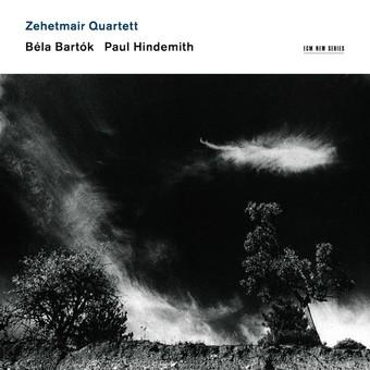CD ECM Records Zehetmair Quartett - Bela Bartok, Paul Hindemith