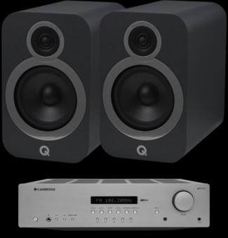 Pachet PROMO Q Acoustics 3030i + Cambridge Audio AXR100