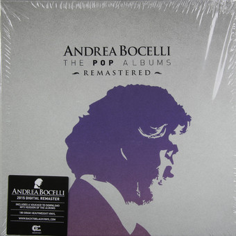 VINIL Universal Records Andrea Bocelli - The Pop Albums Remastered BOXSET