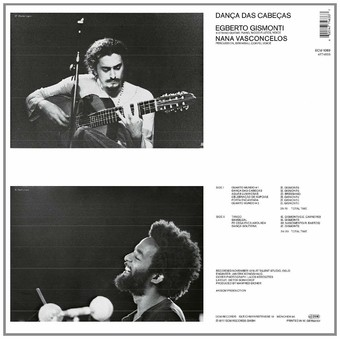 VINIL ECM Records Egberto Gismonti: Danca Des Cabecas