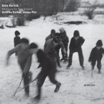 CD ECM Records Andras Keller, Janos Pilz - Bela Bartok: 44 Duos For Two Violins