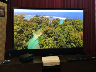 Ecran proiectie Visual Experience UST ELECTRIC INCASTRAT 4K – 3D (nu include mobilier) 16:9 , 100inch