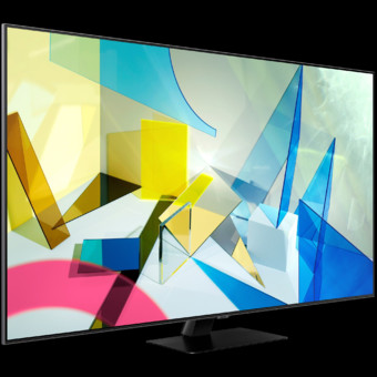 TV Samsung 55Q80TA, QLED, Seria 8, Procesor Quantum 4K