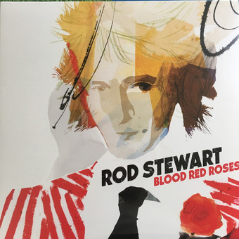VINIL Universal Records Rod Stewart - Blood Red Roses